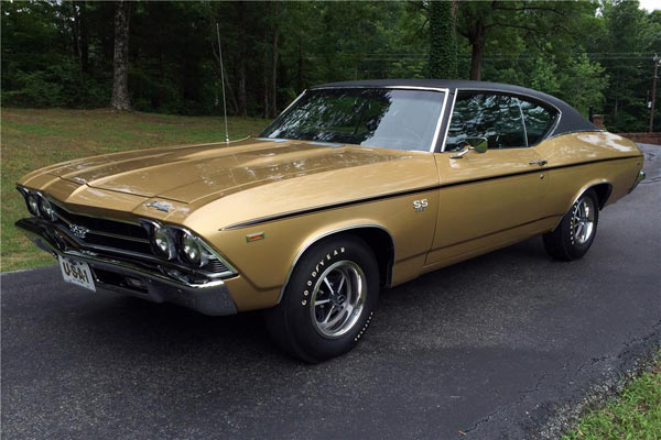 1969 Chevrolet Chevelle Ss 396 Muscle Car