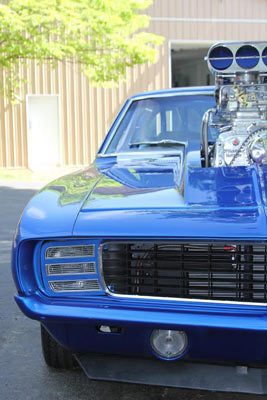 1969 Chevrolet Camaro Rs 1200hp Isca Show Winner Muscle Car