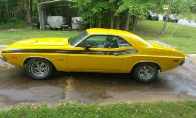 1973 Dodge Challenger Base Hardtop5645645646