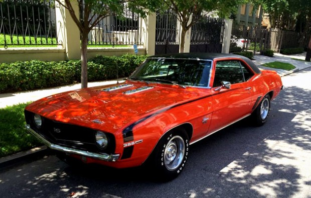 Camaro Ss 1969 Supercharged >> Drew Brees' 1969 Chevrolet Camaro SS For Sale! - Muscle Car