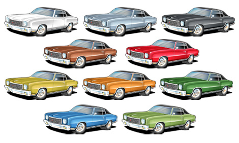 good or bad car resale colors for men muscle car. Black Bedroom Furniture Sets. Home Design Ideas