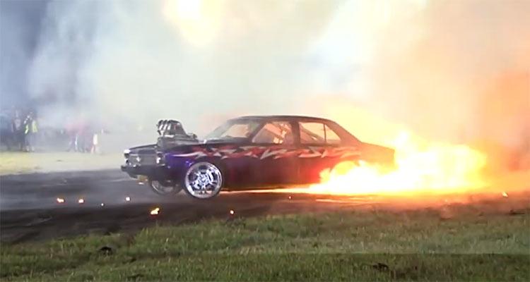 The Best Aussie Muscle Car Burnouts Muscle Car