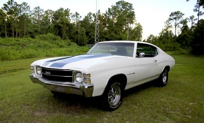 pick of the day 1971 chevrolet chevelle malibu ss muscle car. Black Bedroom Furniture Sets. Home Design Ideas
