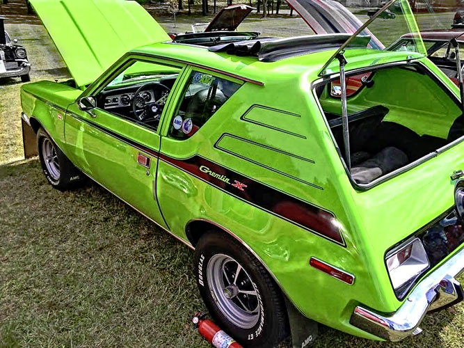 amc gremlin x with true 39 x 39 power muscle car. Black Bedroom Furniture Sets. Home Design Ideas