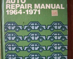 Chiltons-Auto-Repair-Manual-1964---1971