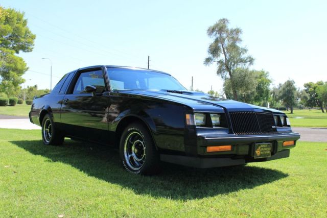 1987 Buick Grand National T Top Turbo Muscle Car