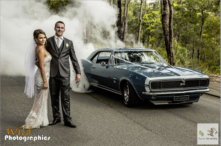Muscle Car Weddings See The Wildest Photos Muscle Car