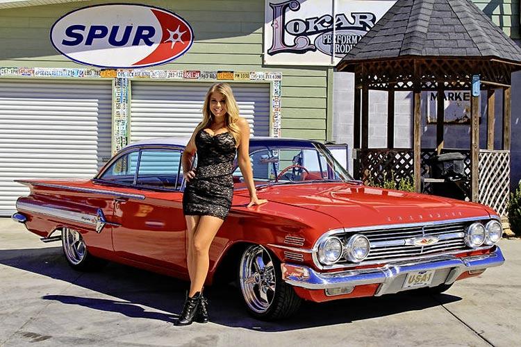 55 Chevy T Shirts 1960 Chevrolet Impala 348 Cruiser - Muscle Car