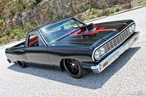 1964 el camino pro touring restomod beauty muscle car. Black Bedroom Furniture Sets. Home Design Ideas