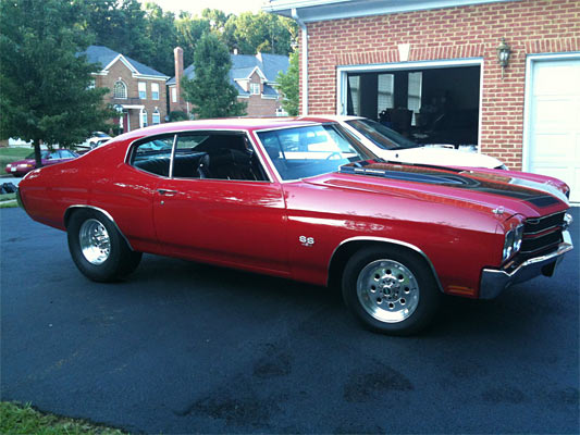 1970 Chevelle Ss 454 Automatic 550 Hp Muscle Car