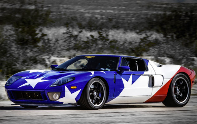 American Flag Paint Jobs: Muscle Car Finest - Muscle Car