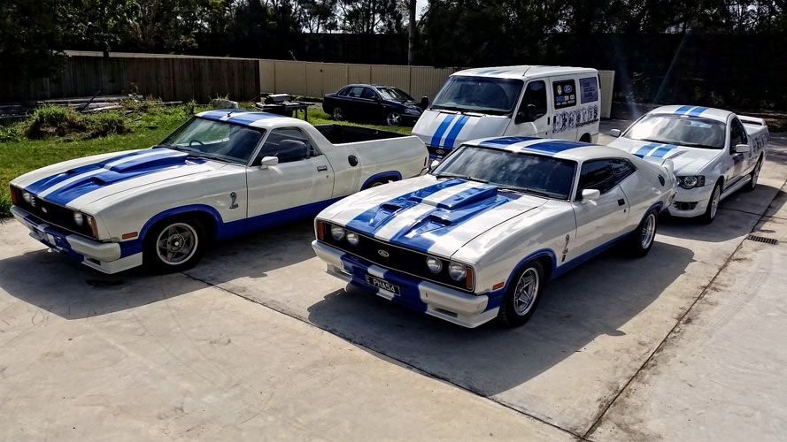 A Flock Of Aussie Muscle Cars By Jeff Bloom Muscle Car
