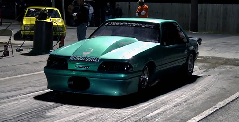 Ford Mustang Fox Body Procharger Little Evil 4 10