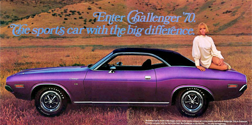 Plum Crazy Or Just Crazy Muscle Car