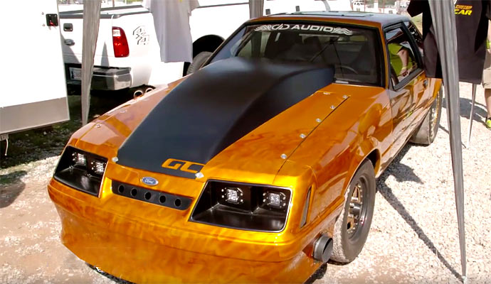 "Pro Touring Muscle Cars For Sale >> Varley's ""Gold Car"" remade at Outlaw Armageddon. - Muscle Car"