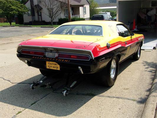Cars At Carlisle >> 1970 Dodge Challenger Drag Race Car. - Muscle Car
