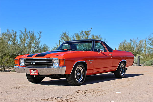 1972 Chevrolet El Camino Ss Matching Numbers Muscle Car