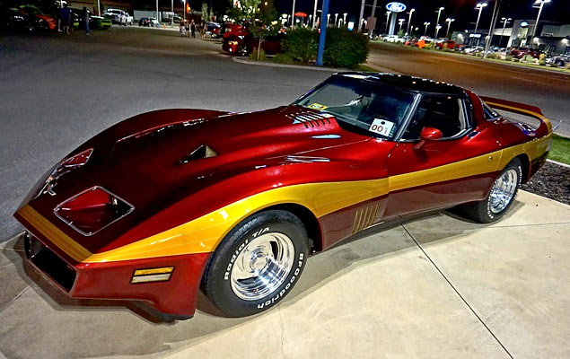 1980 chevrolet corvette bill mitchell custom muscle car. Black Bedroom Furniture Sets. Home Design Ideas