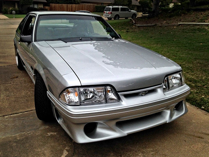 find of the day 1991 ford mustang restomod coyote swap muscle car. Black Bedroom Furniture Sets. Home Design Ideas