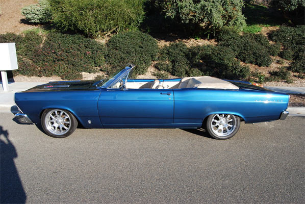 An Awesome 1966 Ford Fairlane Gta500 390 Convertible Muscle Car