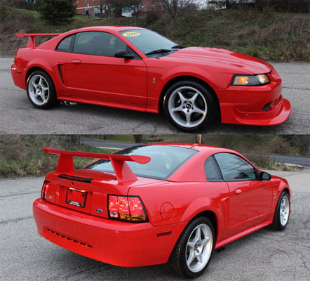 1 of 300 2000 ford mustang cobra r muscle car. Black Bedroom Furniture Sets. Home Design Ideas