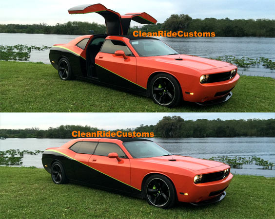 A 2009 Dodge Challenger SRT8 With Custom Jet Doors? & A 2009 Dodge Challenger SRT8 With Custom Jet Doors? - Muscle Car Pezcame.Com