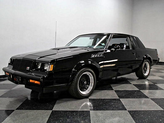 ultra rare 1987 buick grand national gnx 73 of only 547 muscle car. Black Bedroom Furniture Sets. Home Design Ideas
