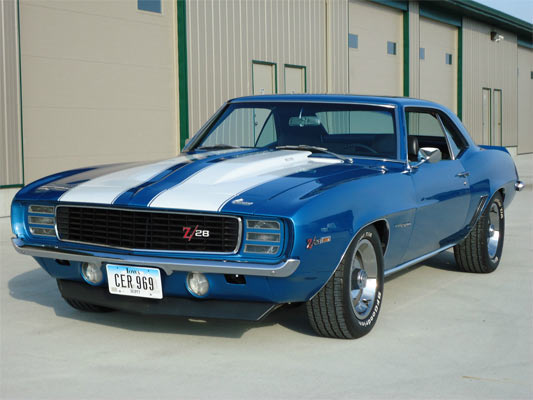 1969 chevrolet camaro rs z 28 muscle car. Black Bedroom Furniture Sets. Home Design Ideas