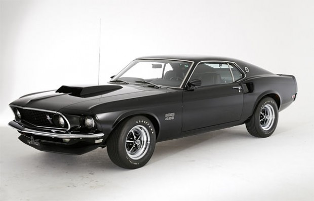find of the day 1969 ford mustang boss 429 muscle car. Black Bedroom Furniture Sets. Home Design Ideas