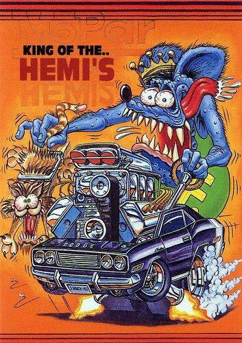 Ed Big Daddy Roth And Rat Fink Muscle Car