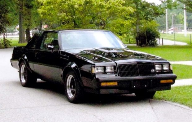 an ultra rare 1987 buick grand national turbo gnx 209 muscle car. Black Bedroom Furniture Sets. Home Design Ideas