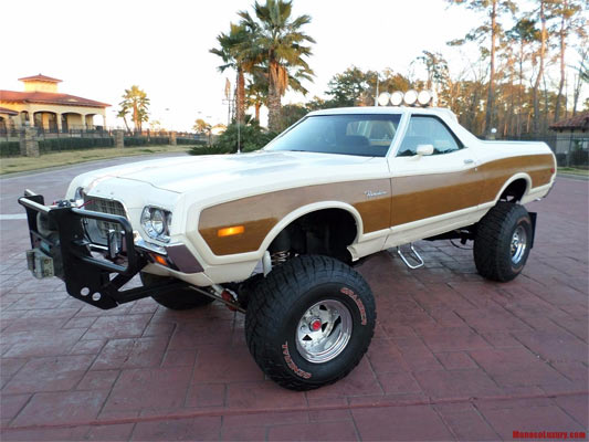 Find Of The Day 1972 Ford Ranchero 4x4 Muscle Car