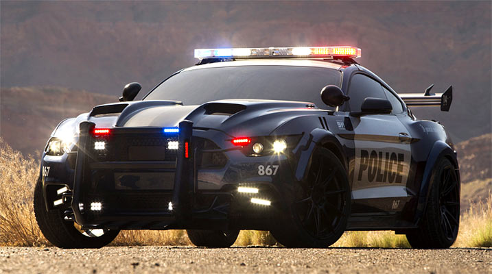 transformers 5 39 s barricade is now ford mustang cop car muscle car. Black Bedroom Furniture Sets. Home Design Ideas