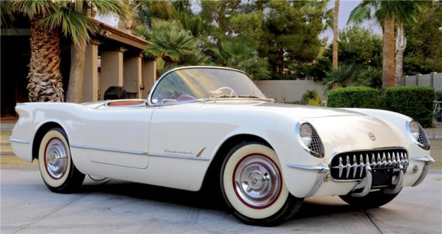 The 1st Ever Chevrolet Corvette Built 63 Years Ago Today