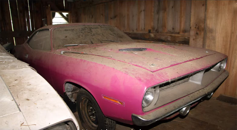 the barn find of mopars hidden for decades muscle car. Black Bedroom Furniture Sets. Home Design Ideas