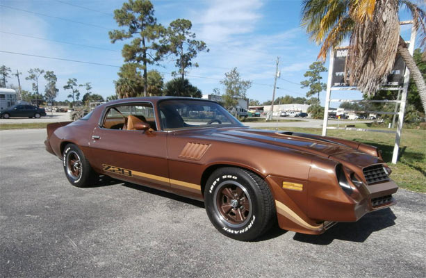 Find of the day 1979 chevrolet camaro z 28 muscle car for 1979 camaro z28 interior parts