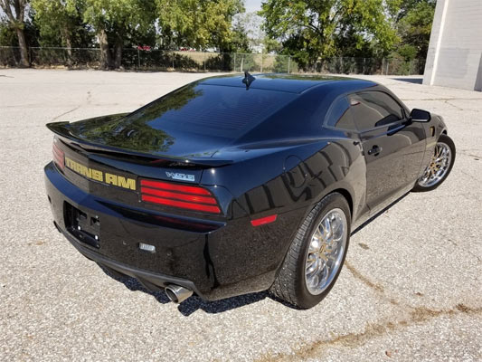 2013 chevrolet camaro with trans am body conversion kit muscle car. Black Bedroom Furniture Sets. Home Design Ideas