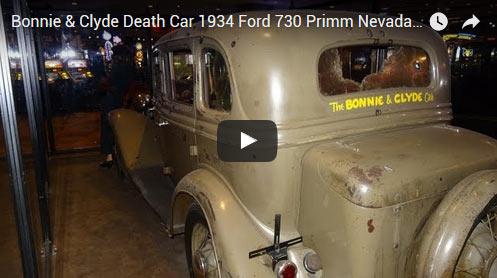 Pro Street Cars >> Bonnie & Clyde's Death Car: 1934 Ford 730 - Muscle Car