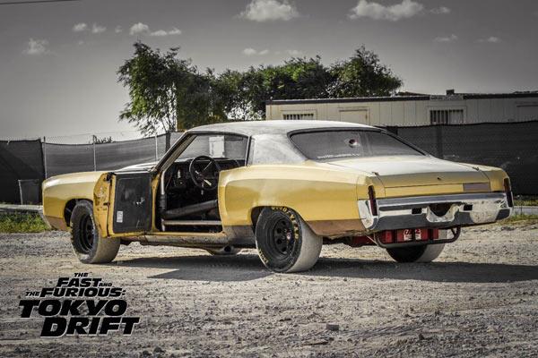 Fast N Furious Tokyo Drift Chevrolet Monte Carlo Muscle Car