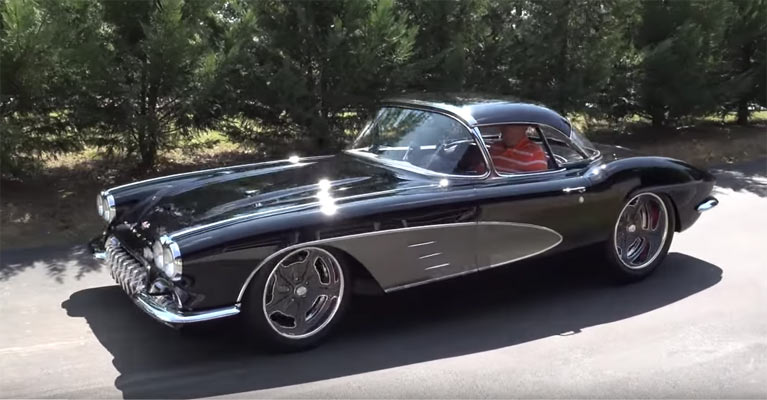 An Immaculately Restored 1961 Chevrolet Corvette From Pro