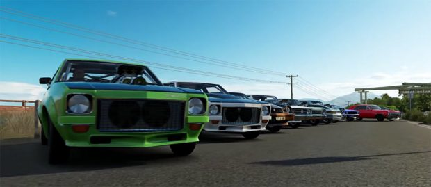 Forza Horizon Muscle Car Meet Muscle Car
