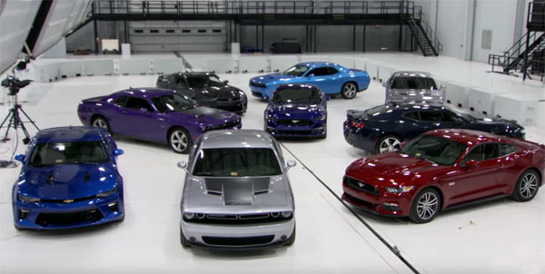 American Muscle Cars Crash Test Muscle Car
