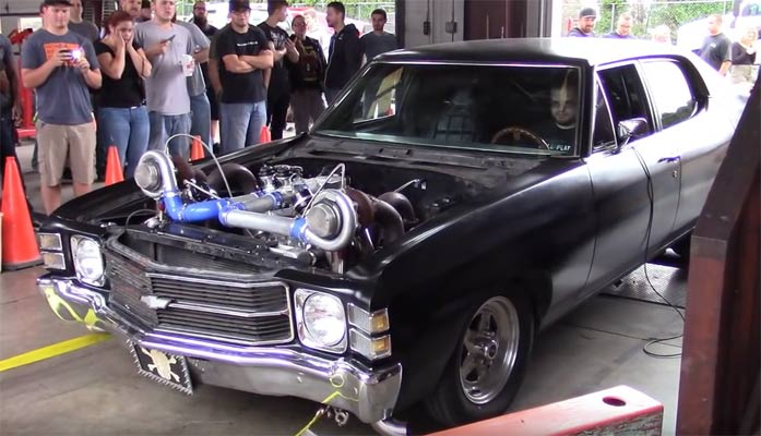 mad max style big block chevelle from dyno day fall muscle car. Black Bedroom Furniture Sets. Home Design Ideas