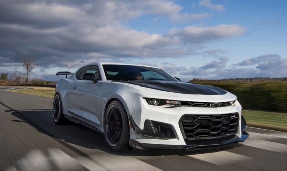 2019 Sixth Generation Chevrolet Camaro Z 28 Muscle Car