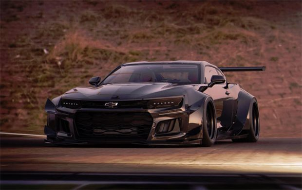 An Incredible Muscle Car Render Of A Widebody 2018