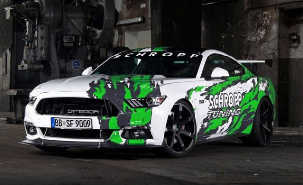 German-Tuned-Mustang