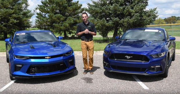 Check Out This Great Comparison Video Between A 2016 Ford Mustang Gt And Chevrolet Camaro Ss See If You Agree With The Final Conclusion