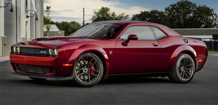Dodge Challenger Srt Hellcat Goes Widebody Muscle Car