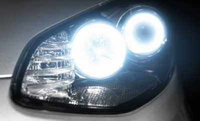 Angel-eyes-xenon-headlight-glowing-optics-lens