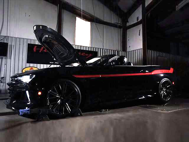 Hennessey To Build 1 000 Hp Convertible Camaro Zl1
